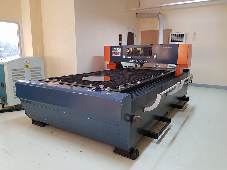 Laser Metal Cutting Machine